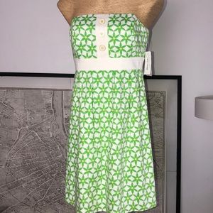 New Lilly Pulitzer strapple dress 8